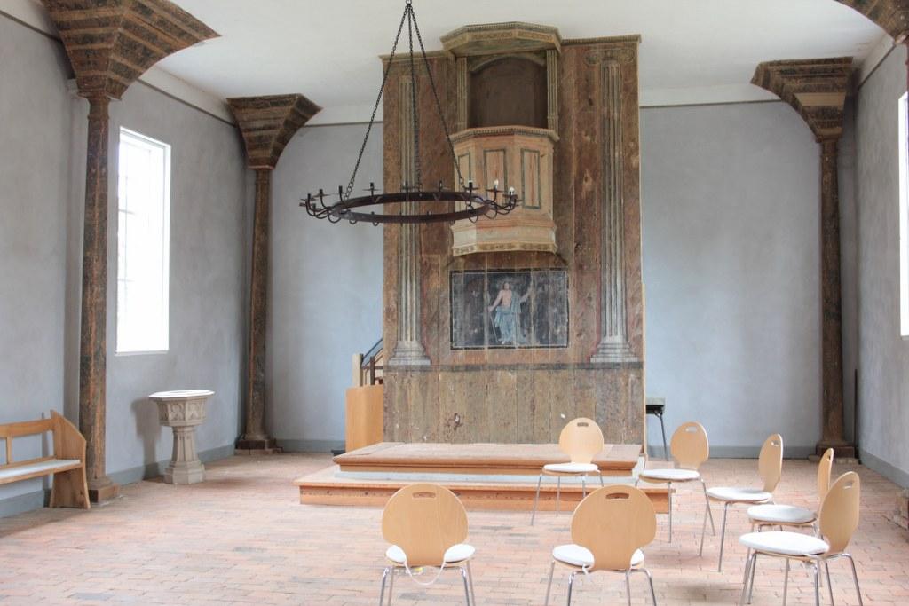 Die Roddahner spätbarocke Saalkirche (c) Foto von Susanne Haun