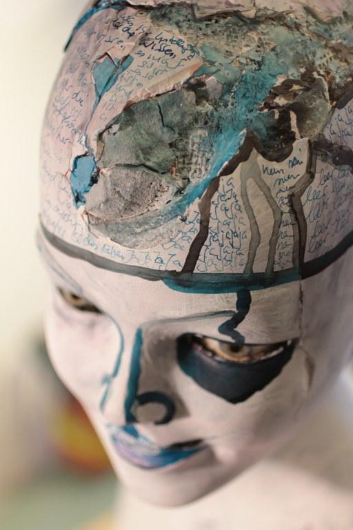 Maggie - Kopf (c) Objekt Zeichnung von Susanne Haun