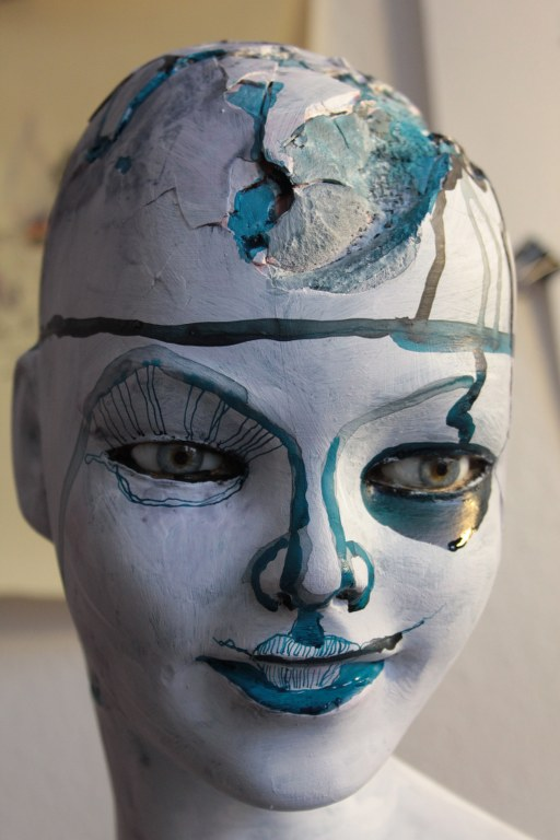 Entstehung von Maggie - Objekt Zeichnung von Susanne Haun