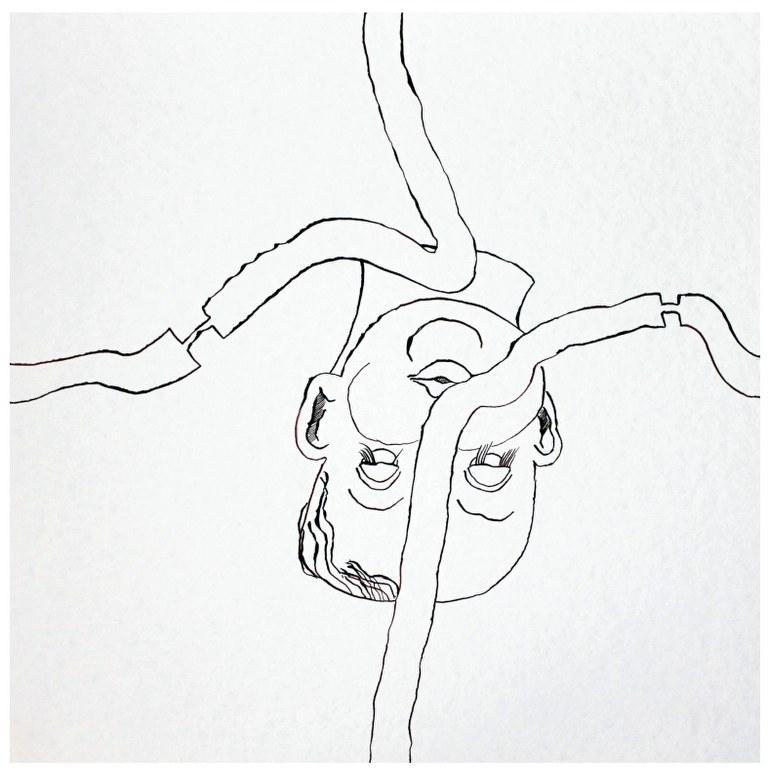 Vernetzt M. 1.2 (c) Zeichnung von Susanne Haun