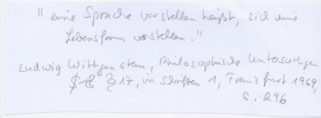 Titel - Überlegungen (c) Susanne Haun