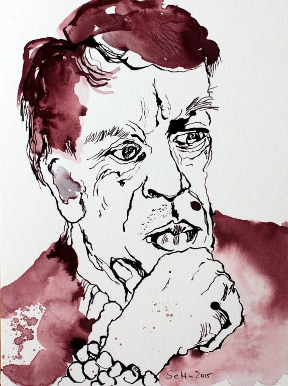 Volker Bild 1, 34 x 24 cm (c) Zeichnung von Susanne Haun