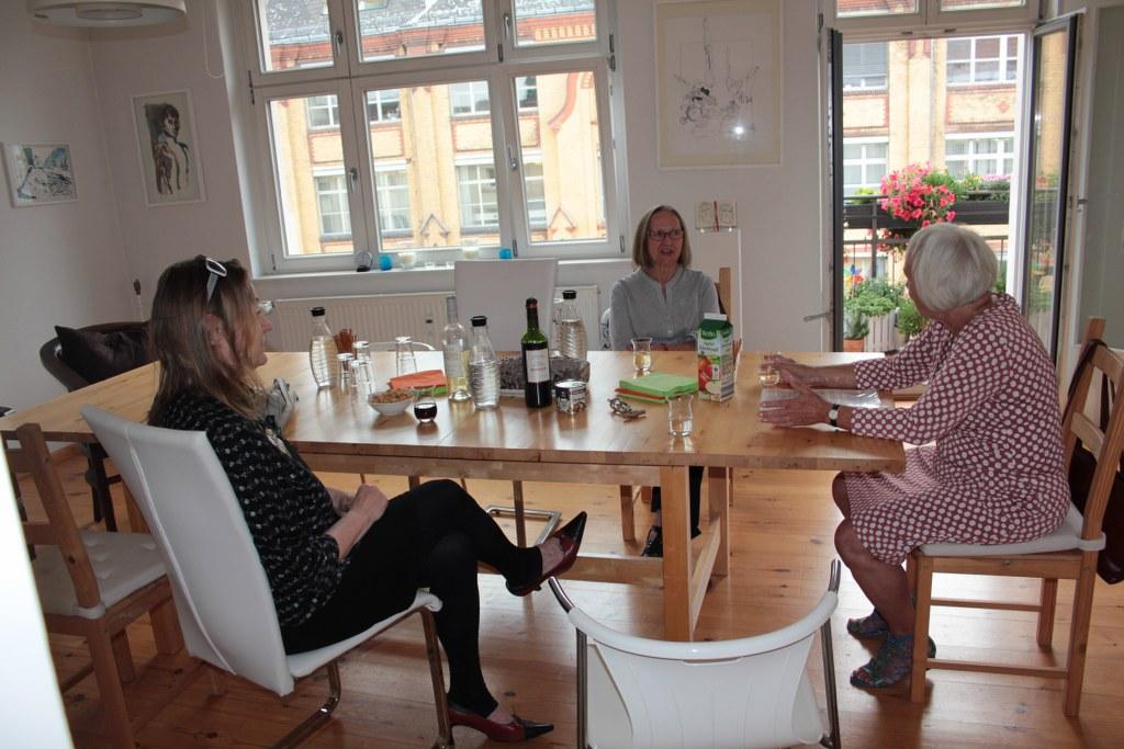 Beschaulich beim KunstSalon am Dienstag (c) Foto von Susanne Haun
