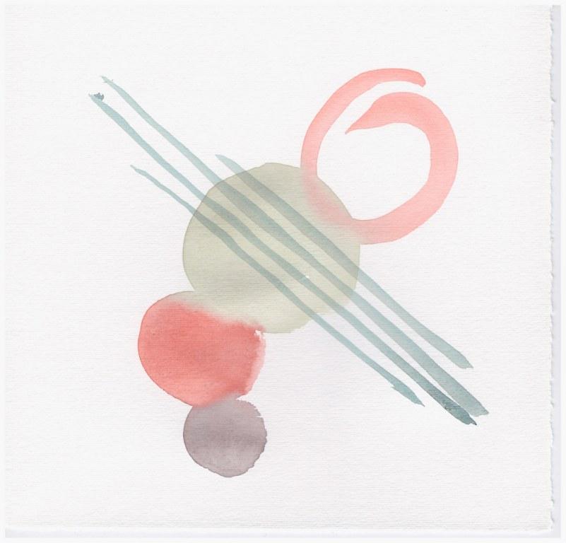 Farbspielerei Pastell (c) Zeichnung von Susanne Haun
