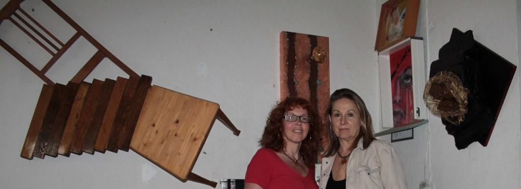 Gabriele Guenther und ich (c) Selbstfoto von Susanne Haun