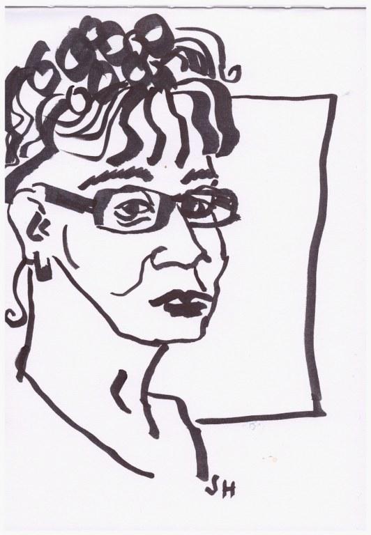 Susanne Haun (c) Zeichnung von Susanne Haun