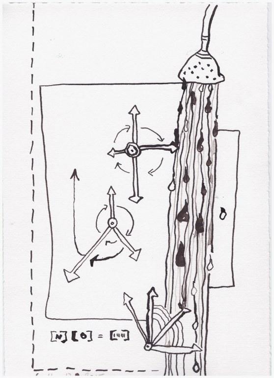 Weggegossen No. 18  (c) Zeichnung von Susanne Haun