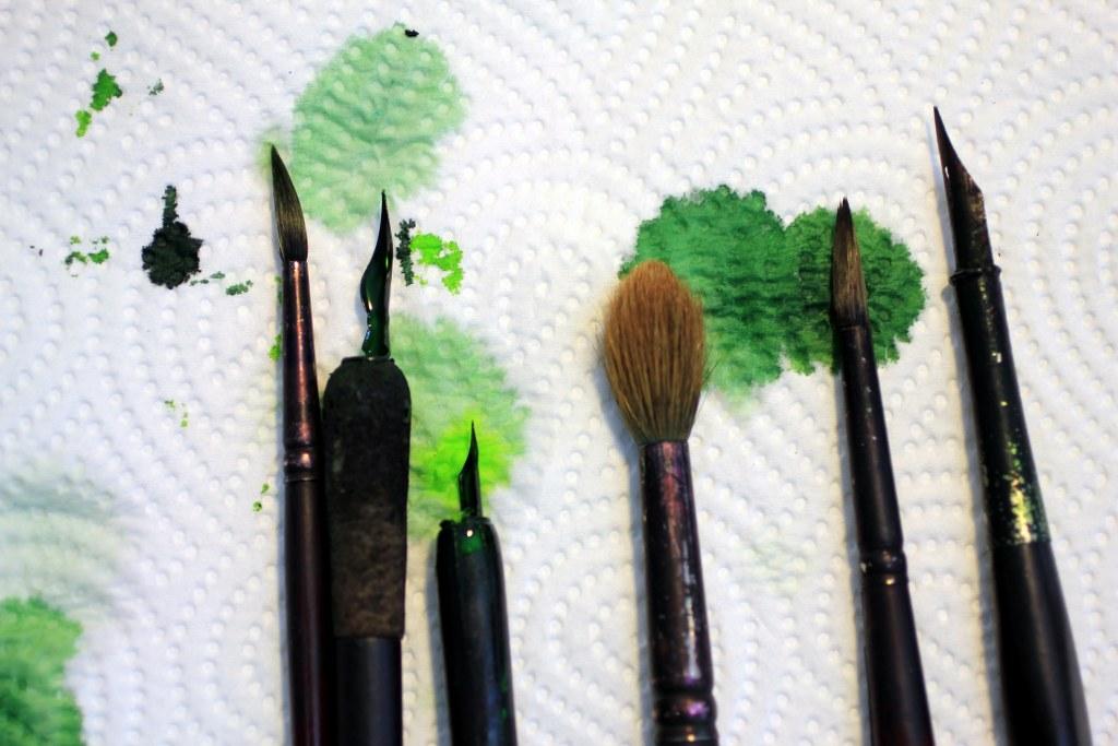 Ich entscheide mich für Grün (c) Foto von Susanne Haun