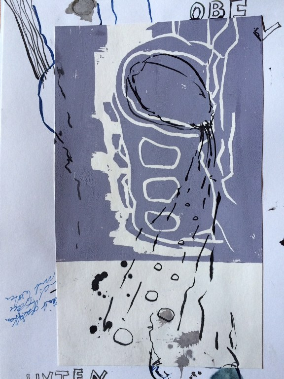 Weggegossen No. 23 d (c) Zeichnung von Jürgen Küster (4)