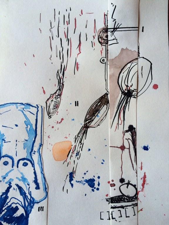 Weggegossen No. 23 f (c) Zeichnung von Jürgen Küster (6)