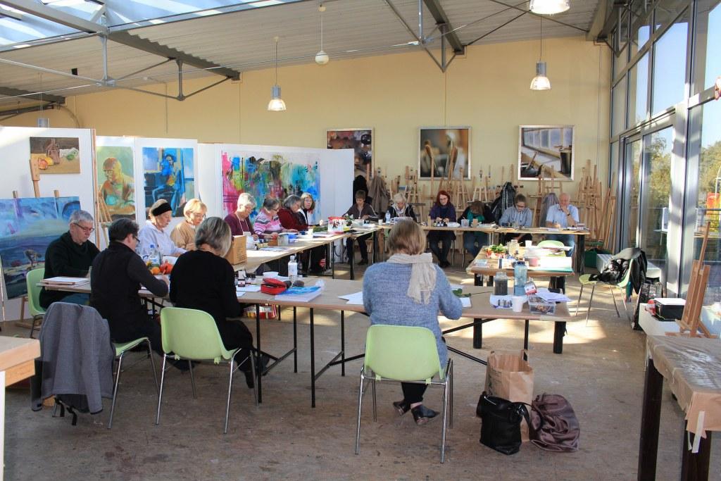 Workshop Tusche Zeichnen (c) Foto von Susanne Haun