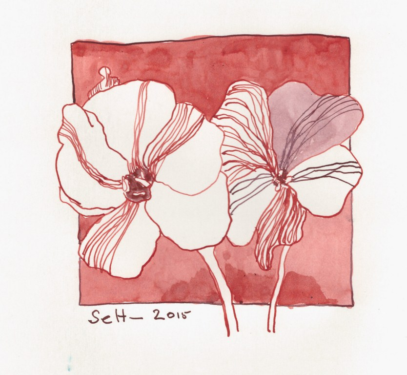 20 Florales (c) Zeichnung von Susanne Haun (1)
