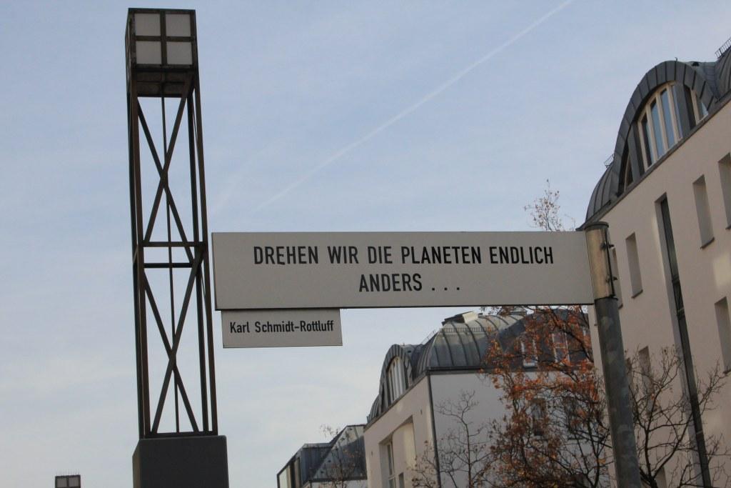Am Berlin Museum (c) Foto von Susanne Haun
