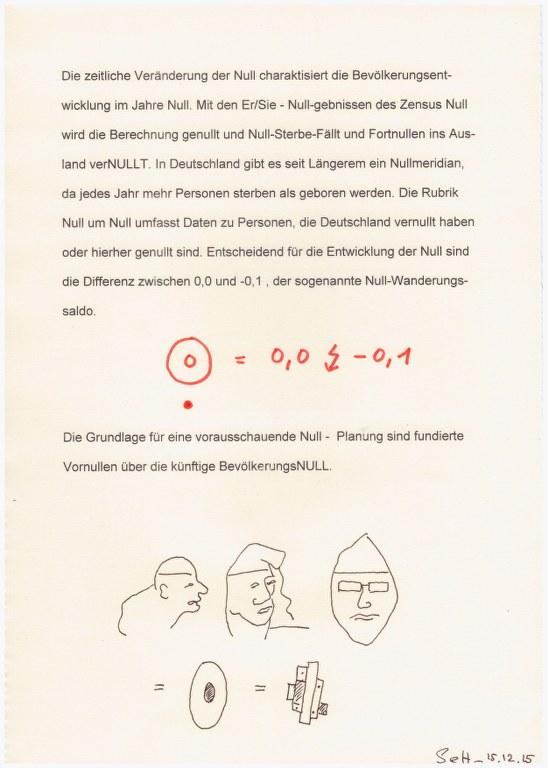 #21.1 Null - Prognose (c) Zeichnung von Susanne Haun