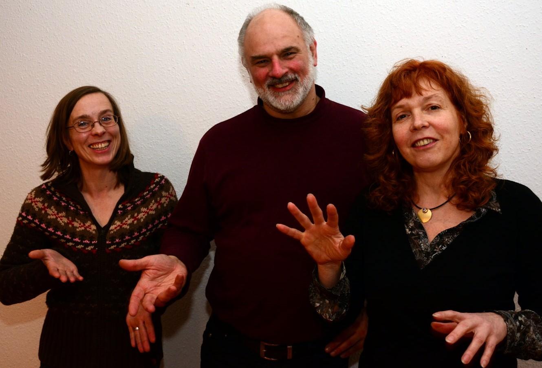 Nina Marxen Thomas Bühler, Susanne Haun - Im Rausch der Freiheit - Ausstellung in der Green Hill Gallery Berlin (c) Foto von M.Fanke