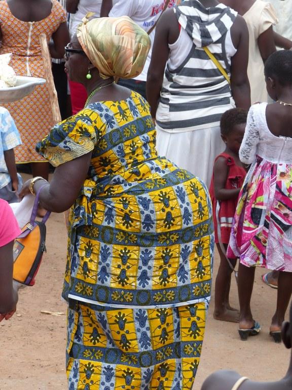 Weibliche Schönheit in Ghana (c) Foto von Joyce-Ann Syhre