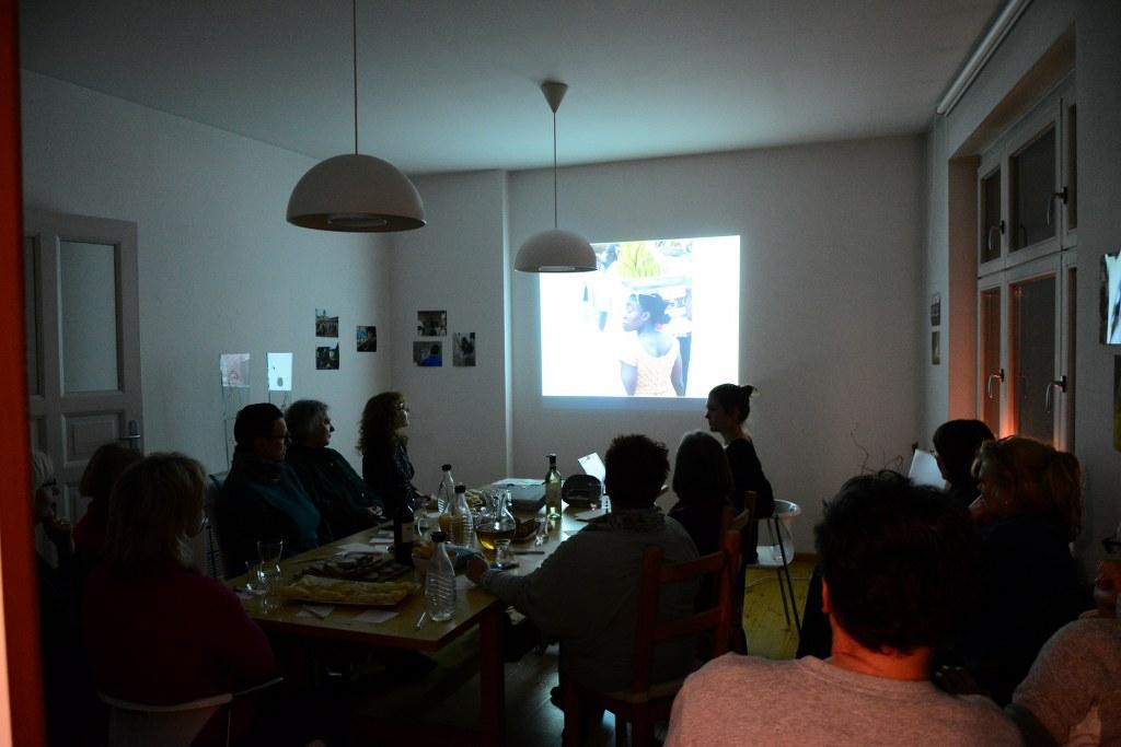 Eröffnung des 9. KunstSalons - Gast Joyce Ann Syhre (c) Foto von M.Fanke