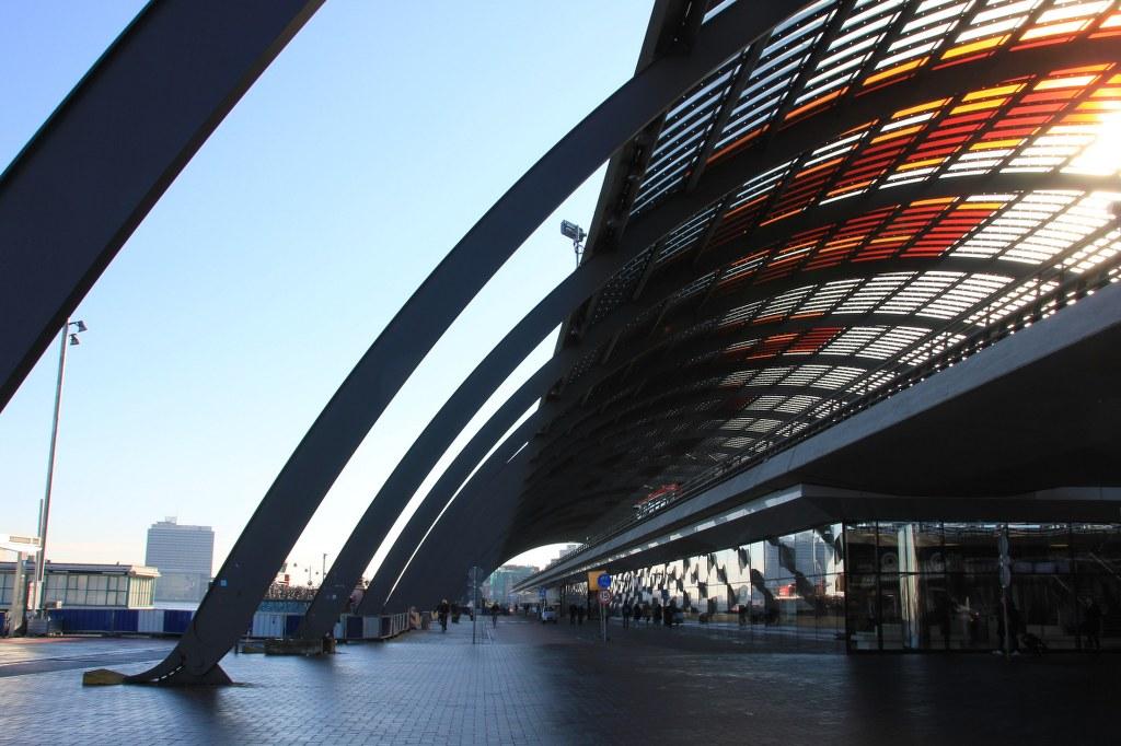 Hauptbahnhof Amsterdam (c) Foto von Susanne Haun
