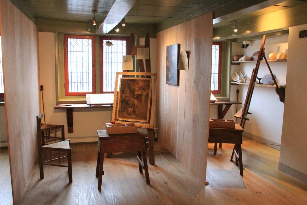 Ateliers der Schüler im Rembrandthaus Amsterdam (c) Foto von Susanne Haun