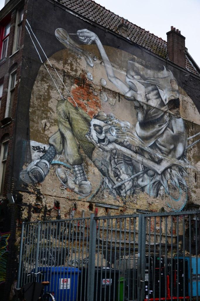 Grafitti in Amsterdam (c) Foto von Susanne Haun
