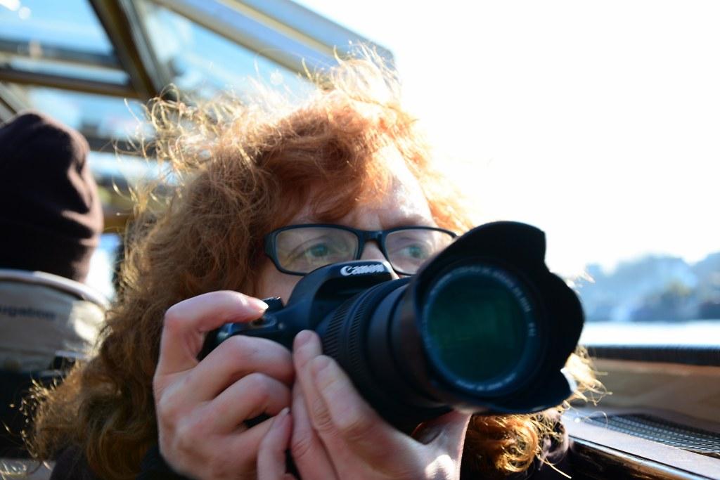 Susanne Haun Grachtenfahrt in Amsterdam (c) Foto von M.Fanke