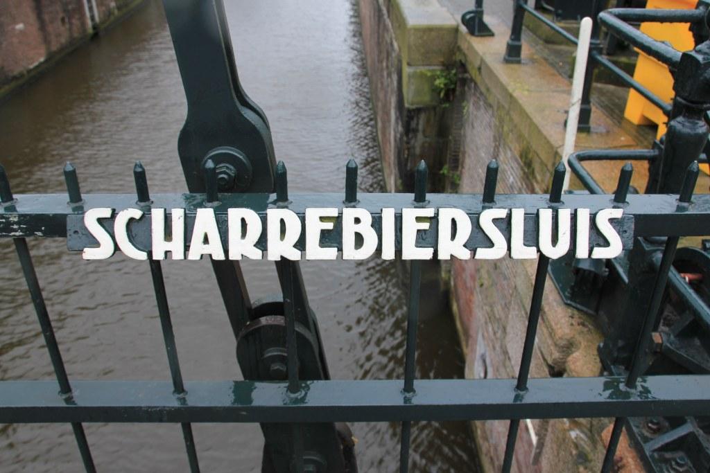 Scharrebiersluis in Amsterdam (c) Foto von Susanne Haun