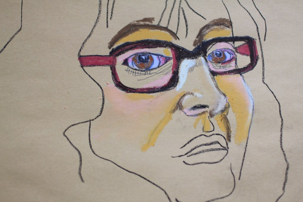Entstehung des Ich - Pastell - 30 x 40 cm (c) Zeichnung von Susanne Haun
