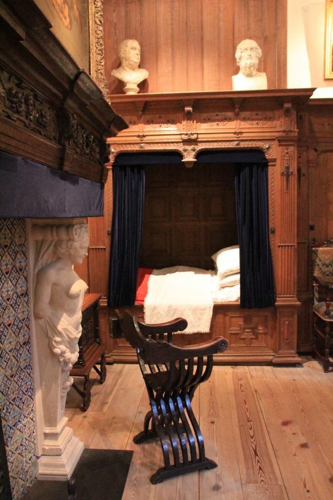 Schlafraum im Rembrandthaus Amsterdam (c) Foto von Susanne Haun