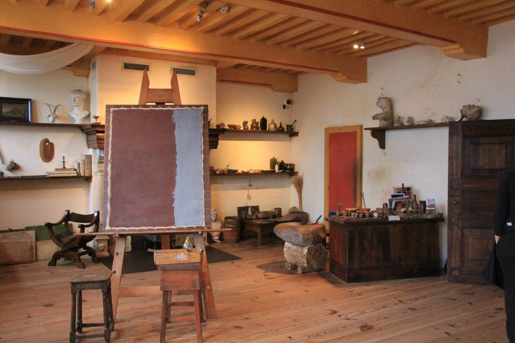 Atelier im Rembrandthaus Amsterdam (c) Foto von Susanne Haun