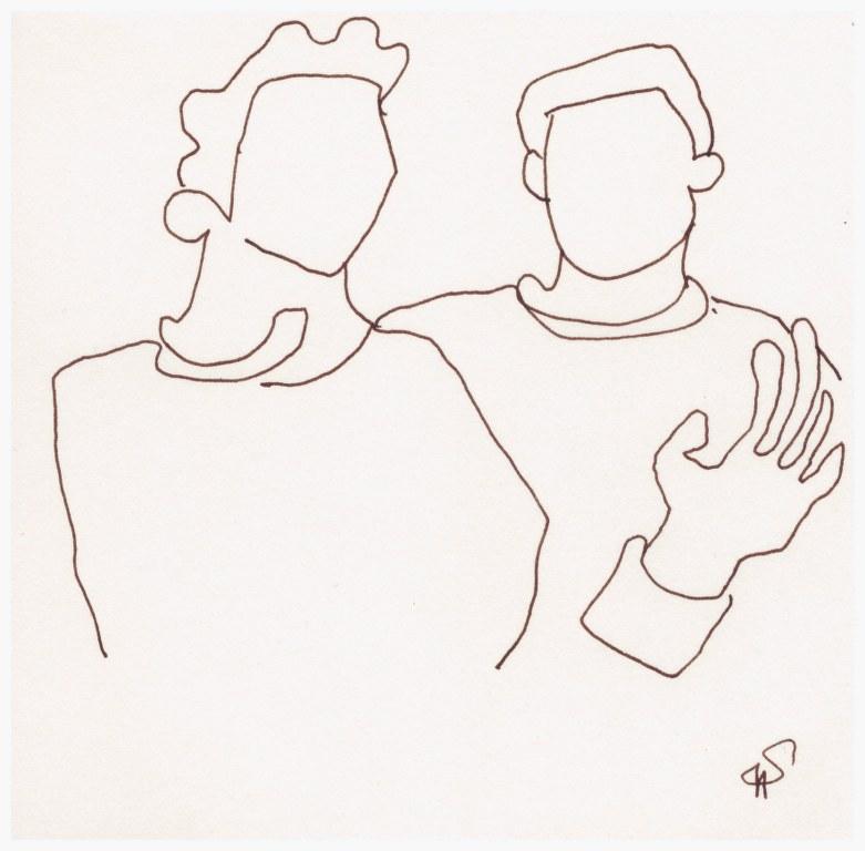 Transit (c) Zeichnung von Susanne Haun