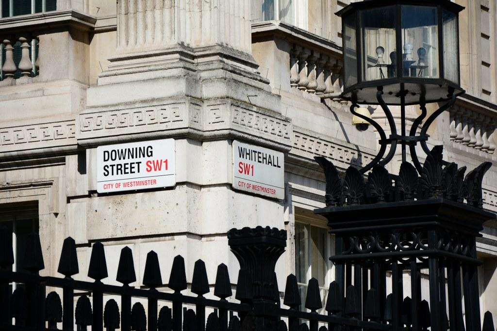 Downing Street Nr. 1 (c) Foto von M.Fanke