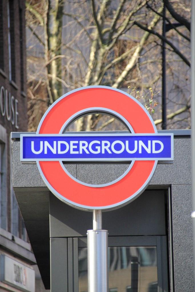 London Underground (c) Foto von Susanne Haun