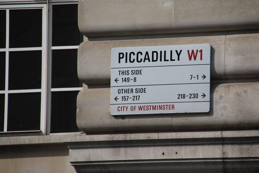 Piccadilly (c) Foto von Susanne Haun