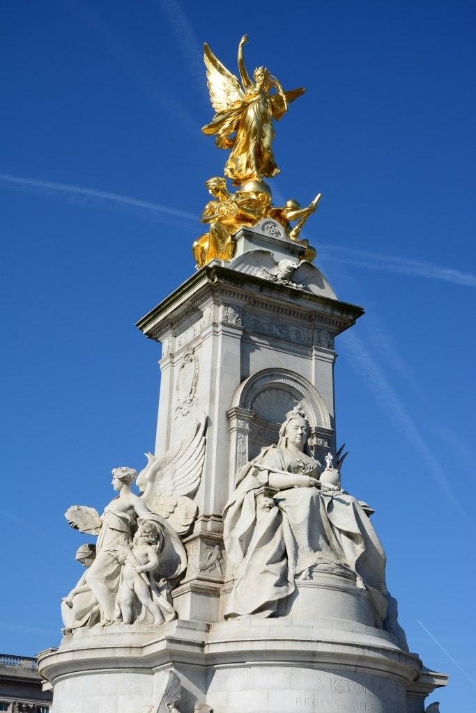 Das Denkmal der Königin Victoria vor dem Buckingham Palace (c) Foto von M.Fanke