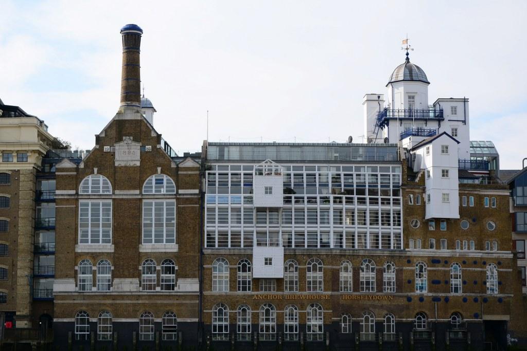 Ehemalige Speicher an der Themse London (c) Foto von M.Fanke