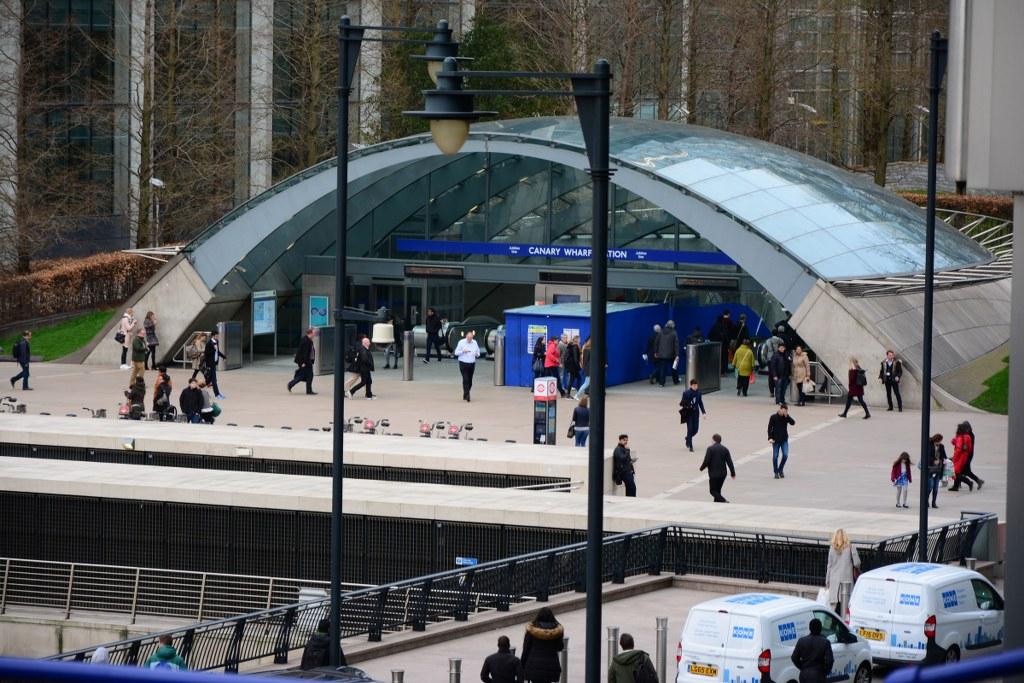 Underground Canary Wharf (c) Foto von M.Fanke