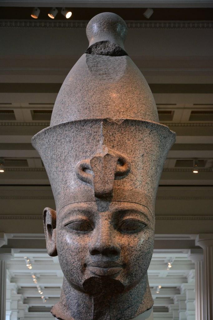 Amenhotep im British Museum (c) Foto von M.Fanke