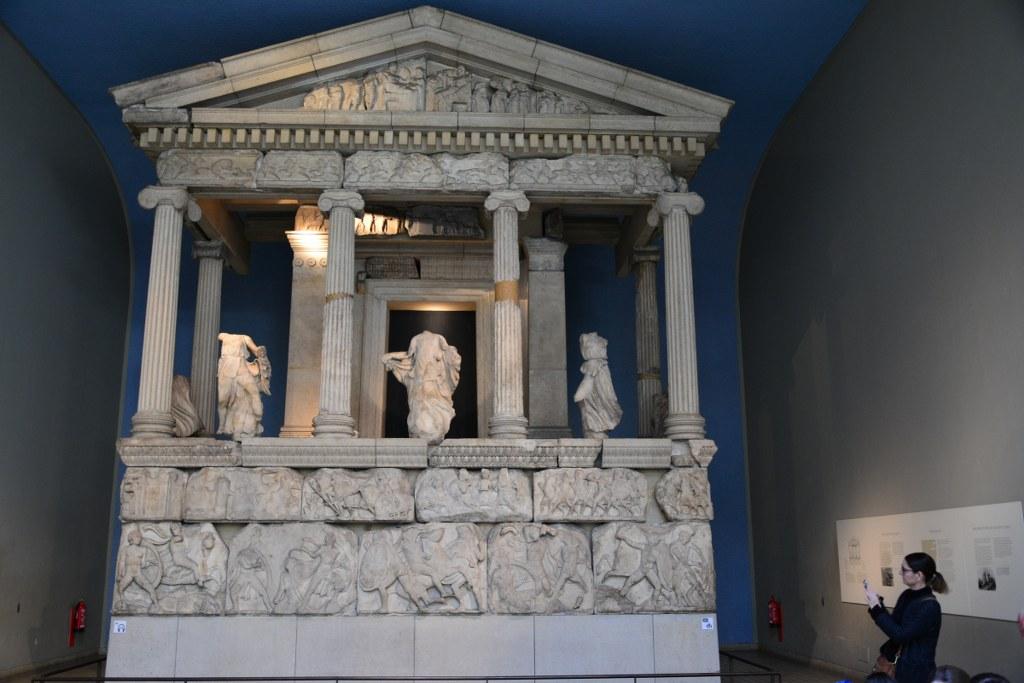 The Nereid Monument im British Museum (c) Foto von M.Fanke