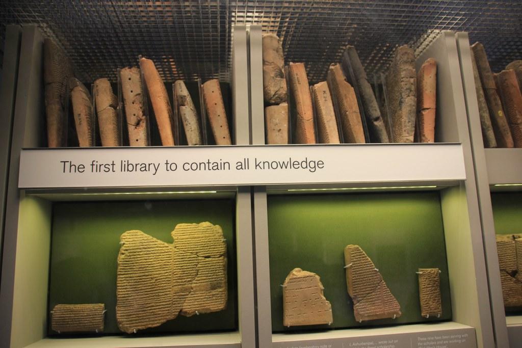 The First Library im British Museum (c) Foto von Susanne Haun