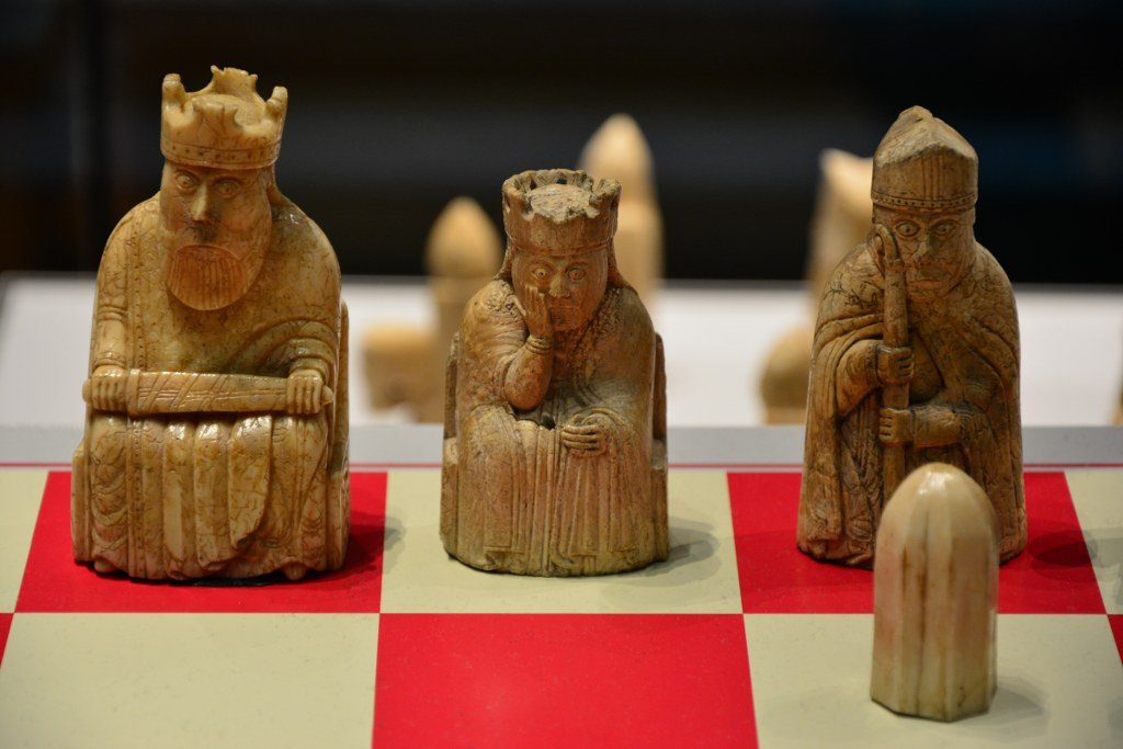 The Lewis Chessmen im British Museum (c) Foto von M.Fanke