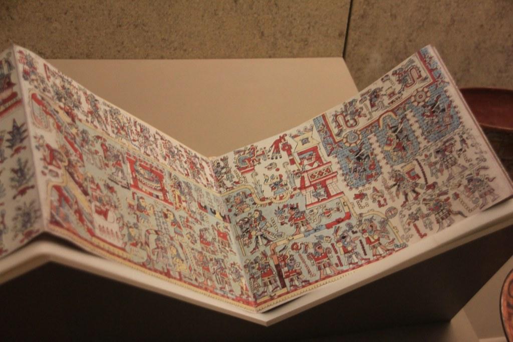 Codex Zouche-Nuttal im British Museum (c) Foto von Susanne Haun