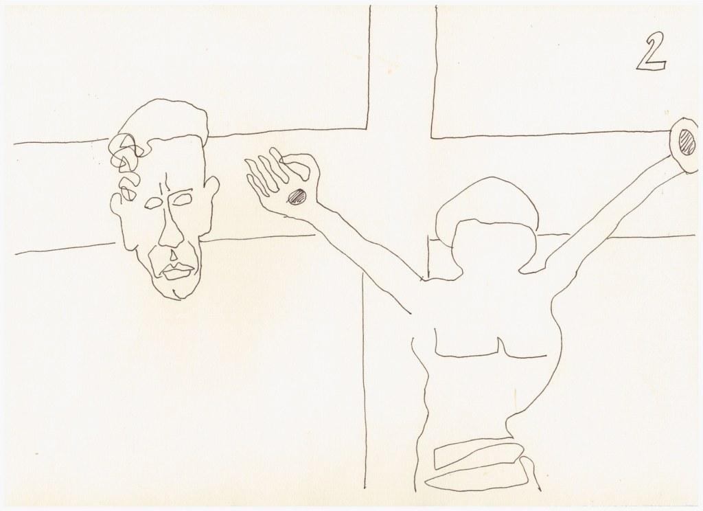 #59.2 Die Obzönität der Null (c) Zeichnung von Susanne Haun