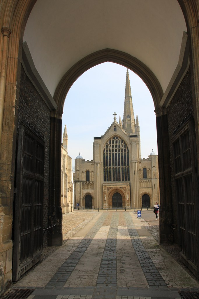 Norwich, Kathedrale der Heiligen und Ungeteilten Dreifaltigkeit (c) Foto von Susanne Haun