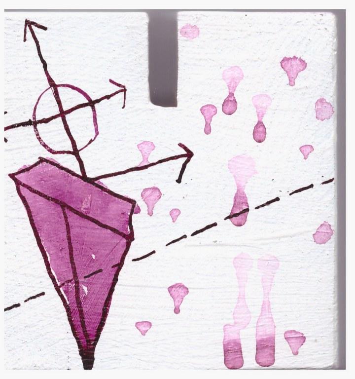 #66.4 Detail die Obszönität der Vermessung der Null (c) Glasobjekt von Susanne Haun
