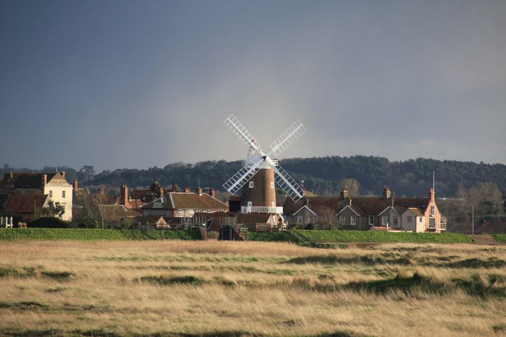 Windmühle in Cley next the sea (c) Foto von Susanne Haun