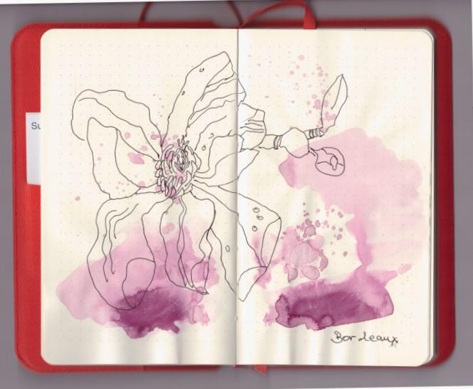 Diary Flex - Zwischendurch (c) Zeichnung von Susanne Haun