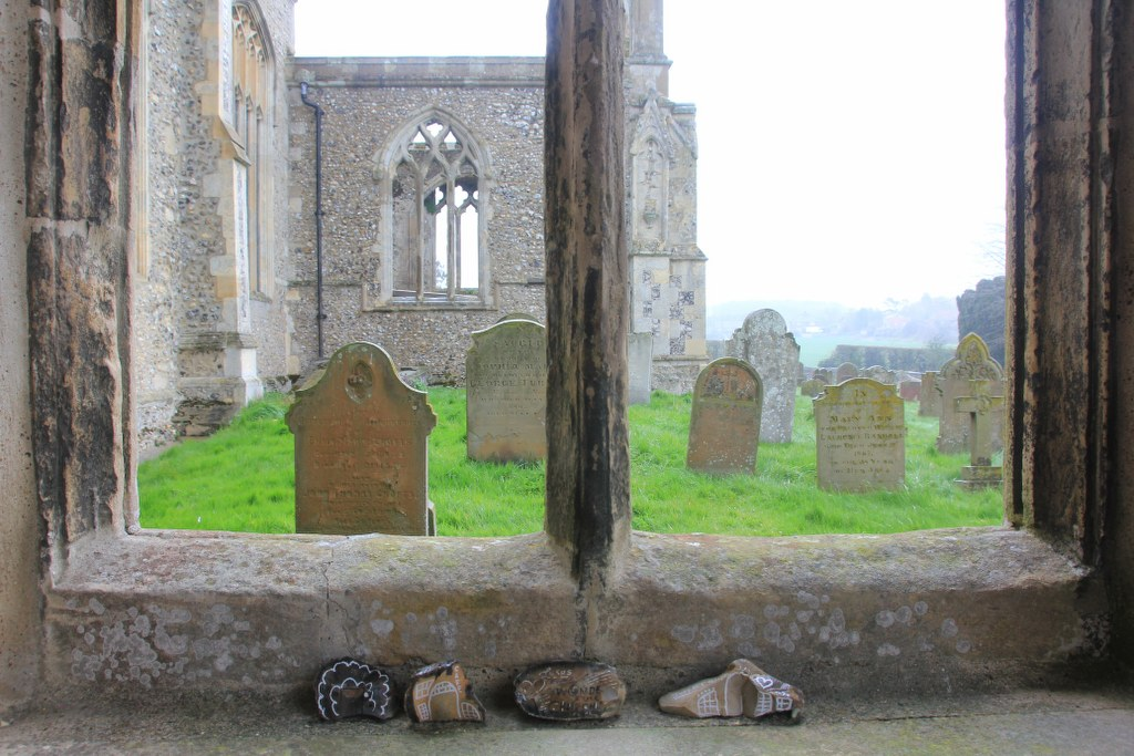 Durchblick St Margaret's Church in Cley next the sea (C) Foto von Susanne Haun