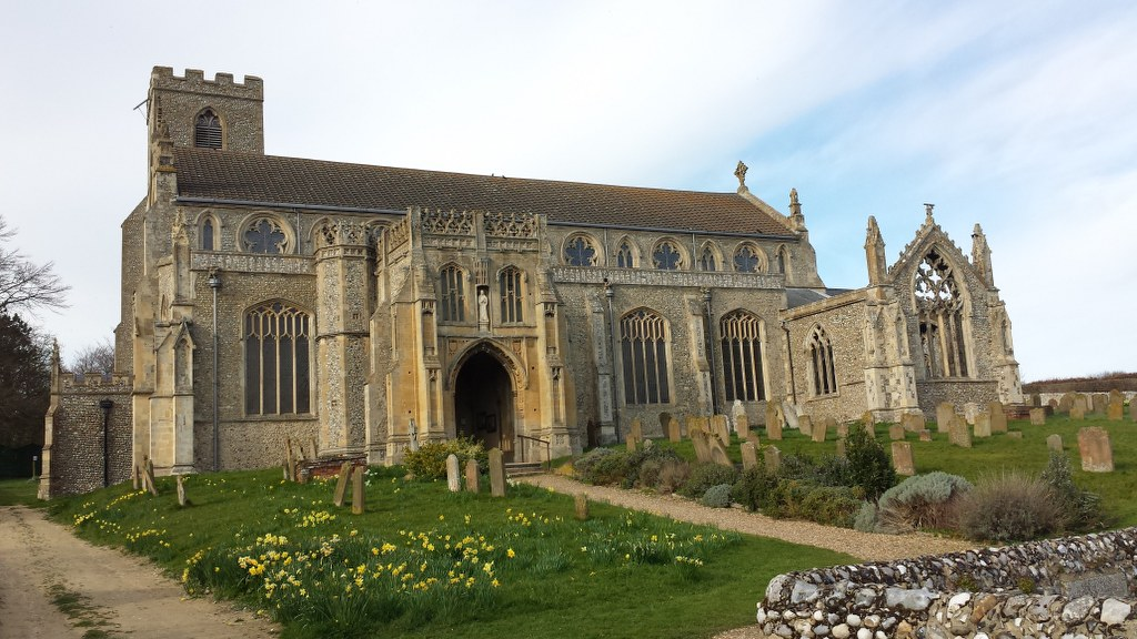 St Margaret's Church in Cley next the sea (c) Foto von Susanne Haun (2)