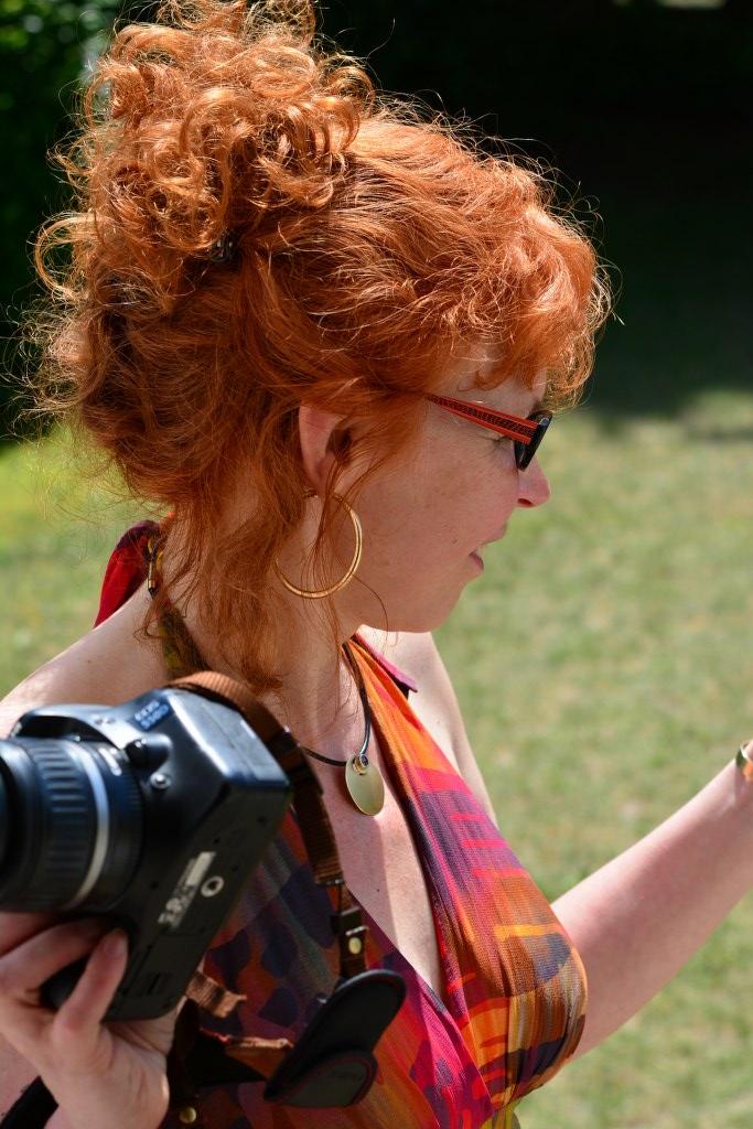 Susanne Haun in Roddahn (c) Foto von M.Fanke