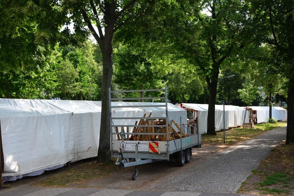 Auch die Rückseite des Weddingmarkt 3. Juli 2016 ist ansehnlich (c) Foto von M.Fanke